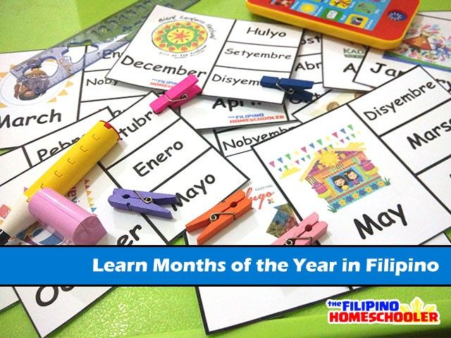 Learn the Months of the Year in Filipino Â« The Filipino ...