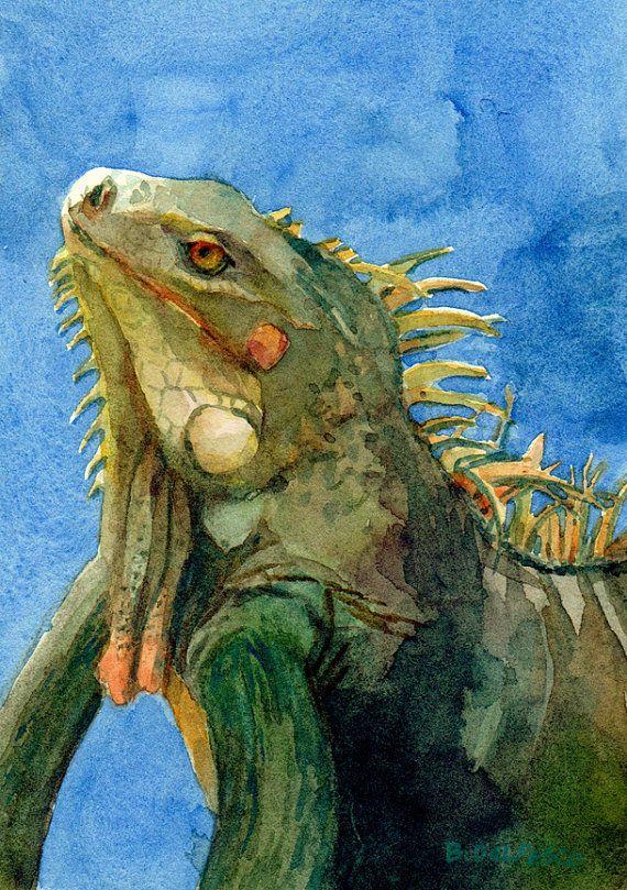 iguana eye painting -#main