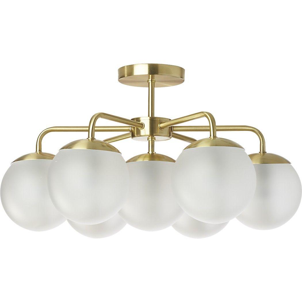 vega flush mount 7 40w g19 bulbs 249 lighting pinterest