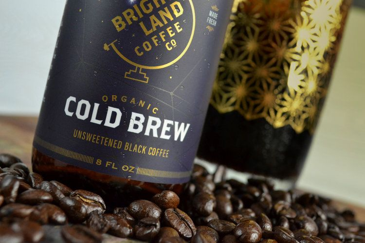Bright Land Coffee Cold Brew Packaging Creative Packaging Design Packaging Design Inspiration