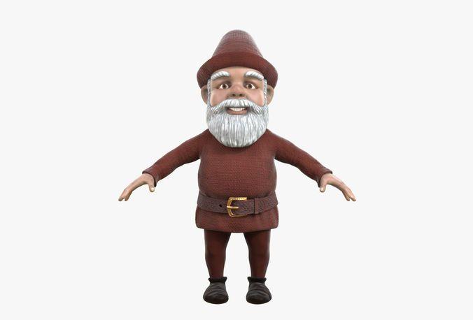 gnome 3d model