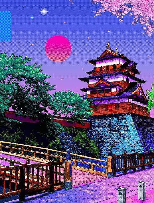 Aesthetic japan tumblr wallpapers in 2019 art - Art aesthetic wallpaper ...