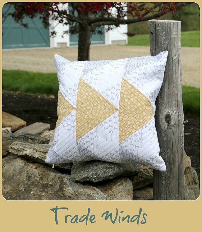 Trade Winds Pillow-Free Pattern (During Quiet Time) | Trade wind ... : tradewinds quilt pattern free - Adamdwight.com