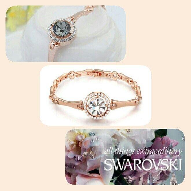 swarovski elements bracciale