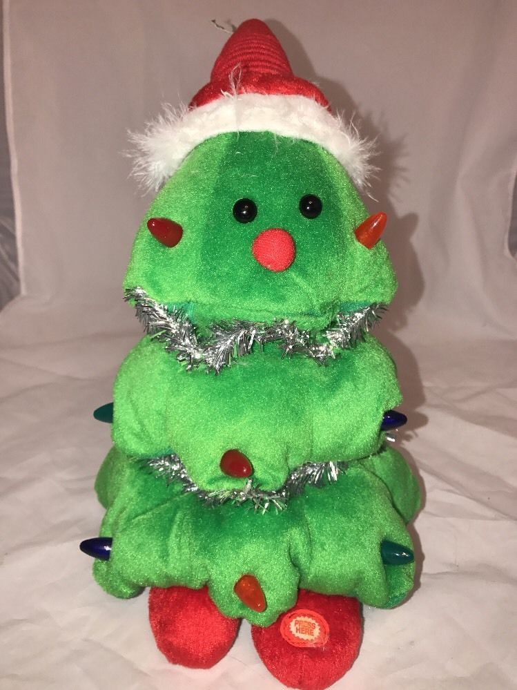 Singing Christmas Tree Toy