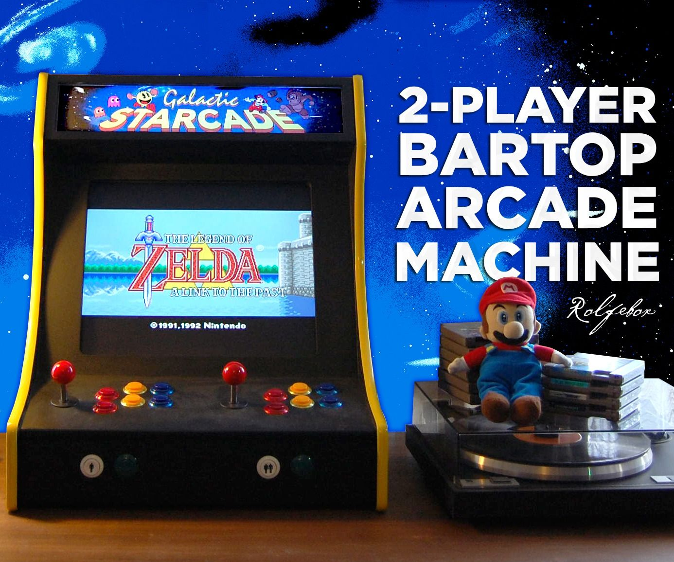 2 Player Games 2 Player Bartop Arcade Machine Powered By Pi Ethan
