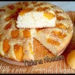 TORTA SOFFICE ALBICOCCHE, RICOTTA E AMARETTI