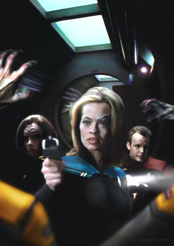 Posted by SF Series and Movies  Star Trek Voyager this is straight up awesome!