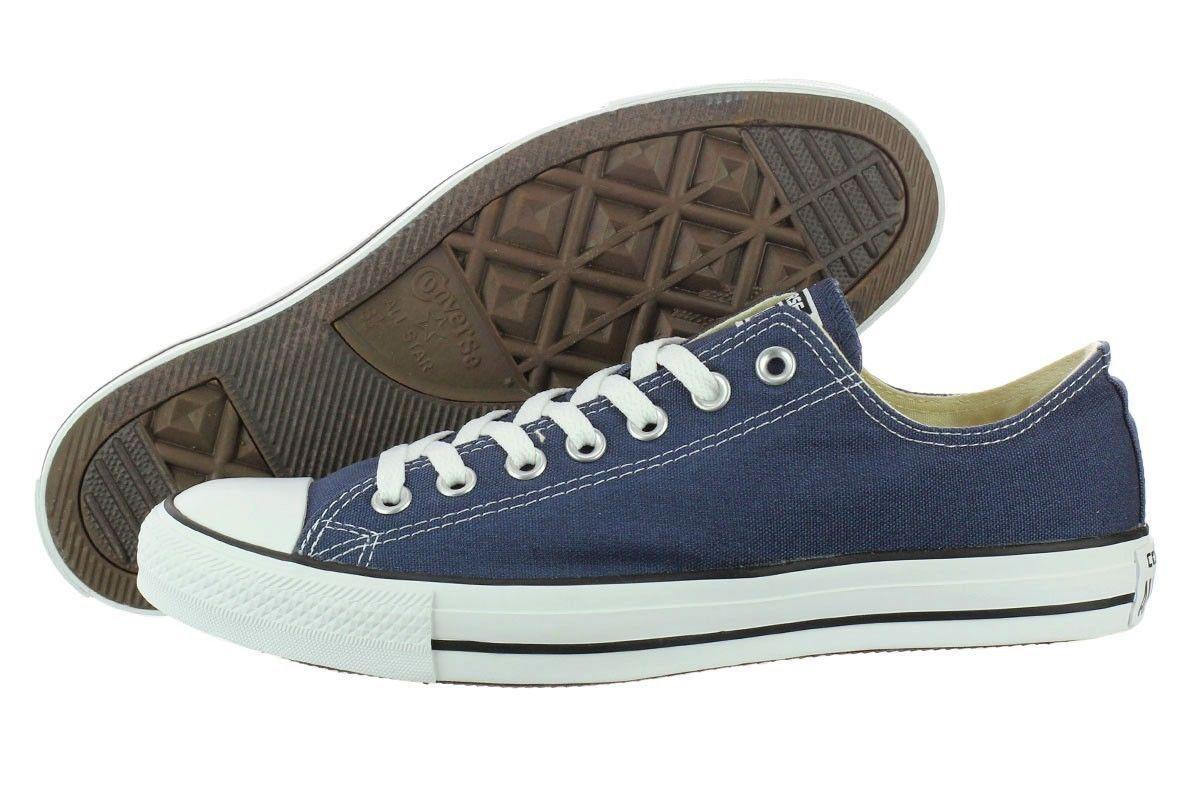c4b123cf18de Converse All Star Chuck Taylor Ox M9697 Navy Canvas Shoes Medium (B ...