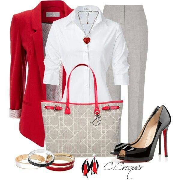 MODERN BUSINESS ATTIRE FOR WOMEN 5 BEST OUTFITS - Business Attire #womensbusinessattire