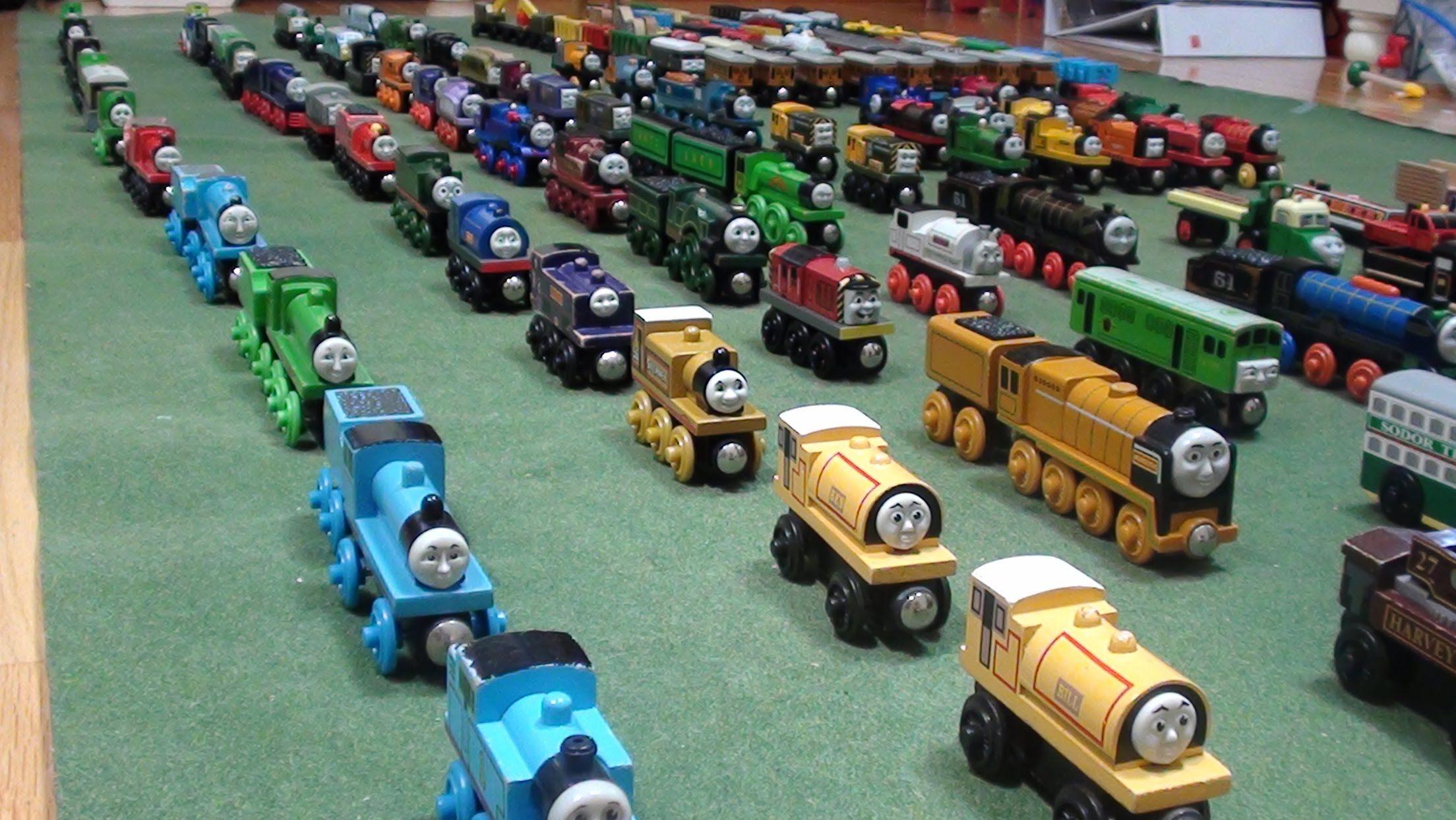 Woodenrailwaystudios Thomas Wooden Railway Collection 2 Thomas