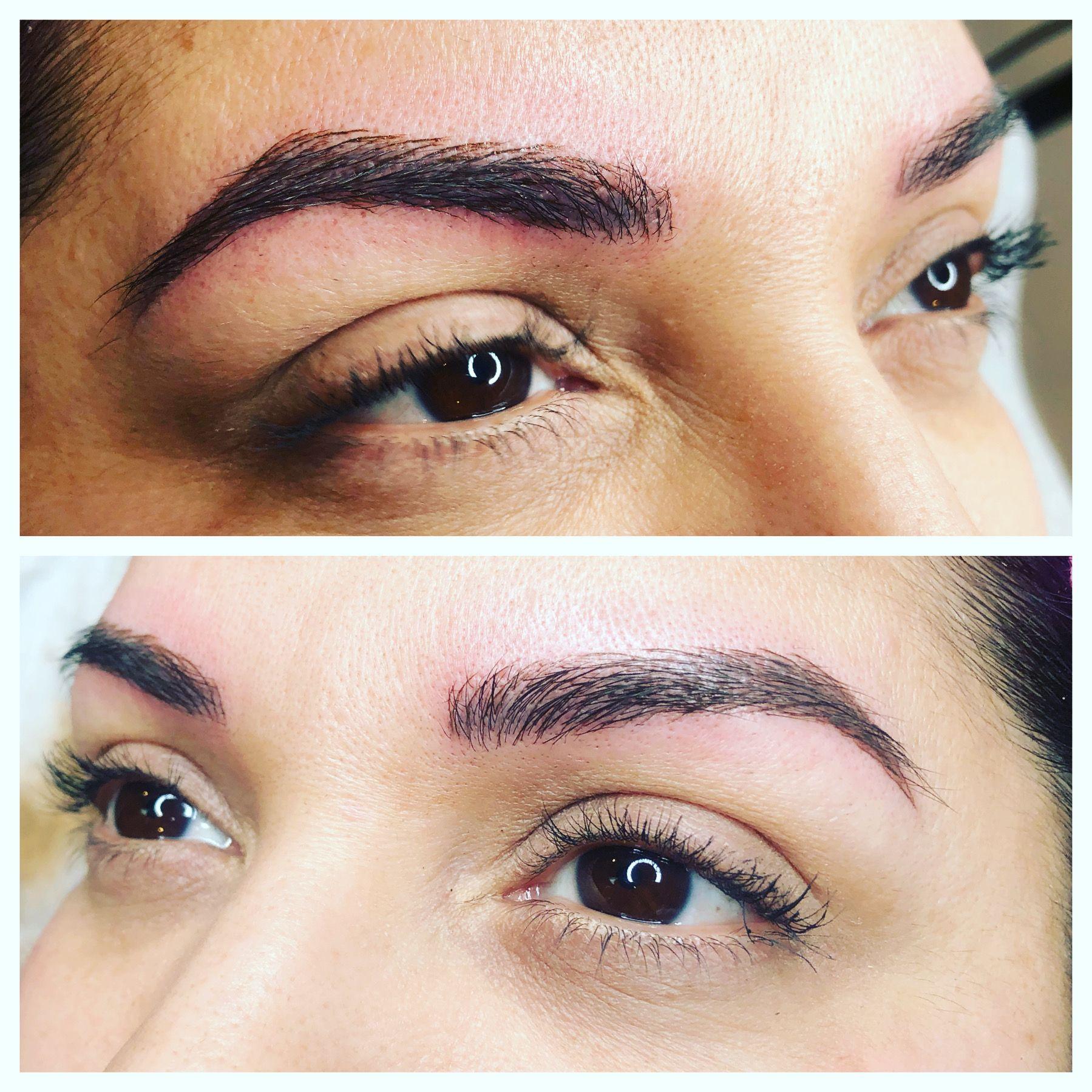 Tattoo eyebrows in 2020 Esthetics, Esthetician