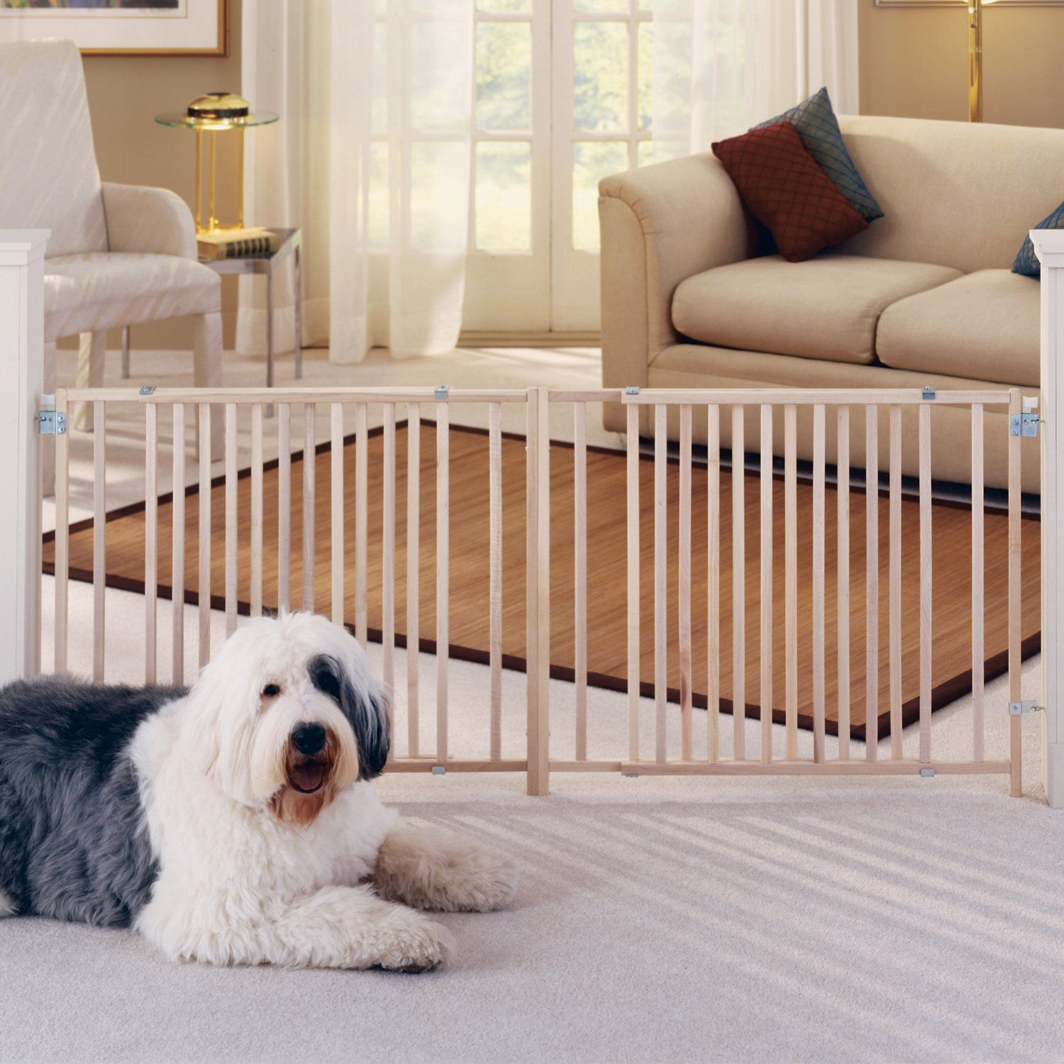 Pin by dagmar losasso on dog room pet gate dog gate pets