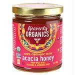 OrganicAcaciaRawHoney12ozJarHV