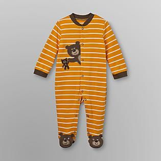 7458dff76 Little Wonders- -Infant Boy s Footed Sleeper Pajamas - Bears