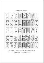 El Abecedario En Dibujo Tecnico Abecedario Letras Para Carteles Tecnicas De Dibujo