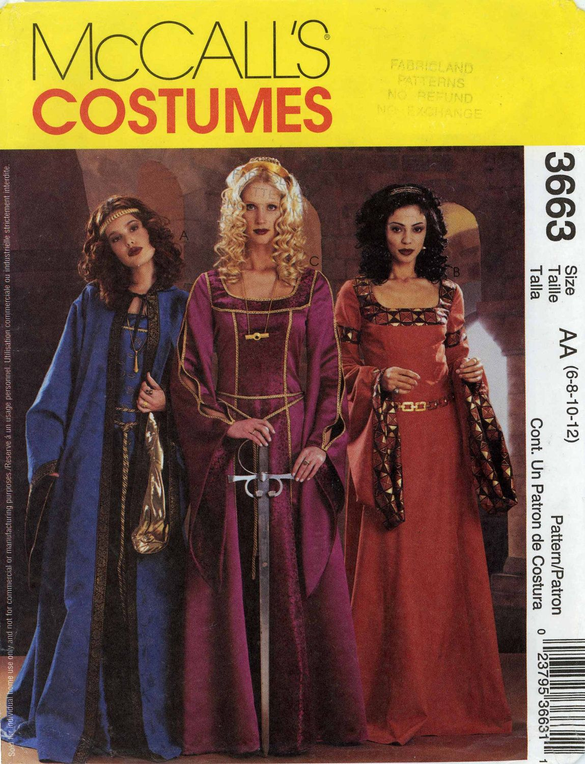 Medieval Costume Patterns New Inspiration Design