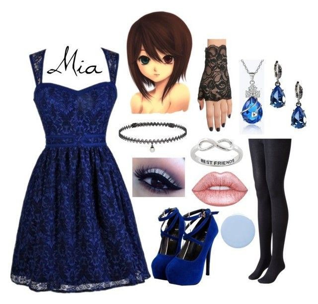 """Mia's Outfit # 1"" by yunalesca-cecilia-sakura on Polyvore featuring art"