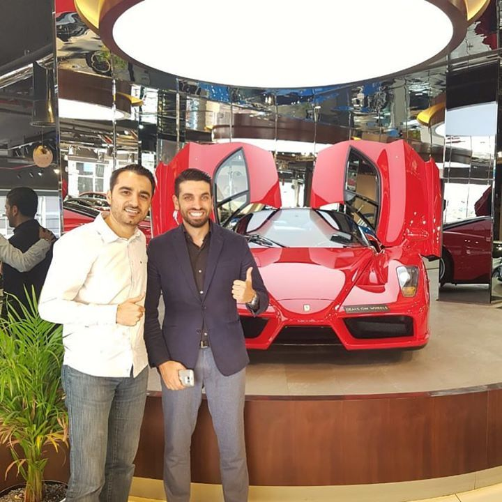 With My Friend Mohanad Alwadiya The Wolf Of Real Estate Presenter Memaar TV Show On