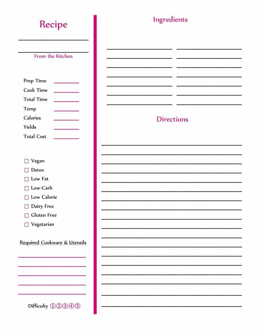 Cookbook template word savebtsaco cookbook design template.