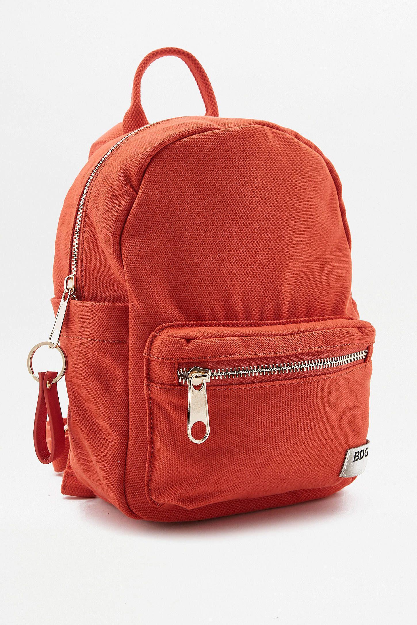 large choix de designs vente chaude en ligne meilleure valeur BDG Canvas Mini Backpack | WHISHLIST | Petit sac à dos ...