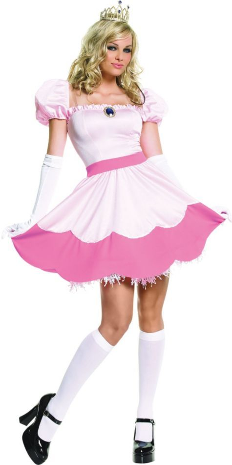Adult Pretty Pink Princess Costume - Party City  sc 1 st  Pinterest & Adult Pretty Pink Princess Costume - Party City | 80s Party ...