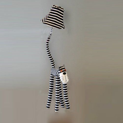 Lovely Cartoon Fabric Striped Cat Kid S Bedroom Floor Lamp Romantic Rural Study Roo Kids Bedroom Flooring Cute Living Room