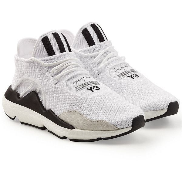 Adidas Y-3 Saikou Sneakers (23.810 RUB) ❤ liked on Polyvore featuring shoes