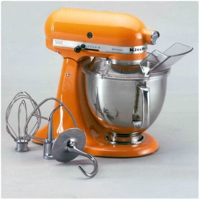 I want a kitchen with orange accents!