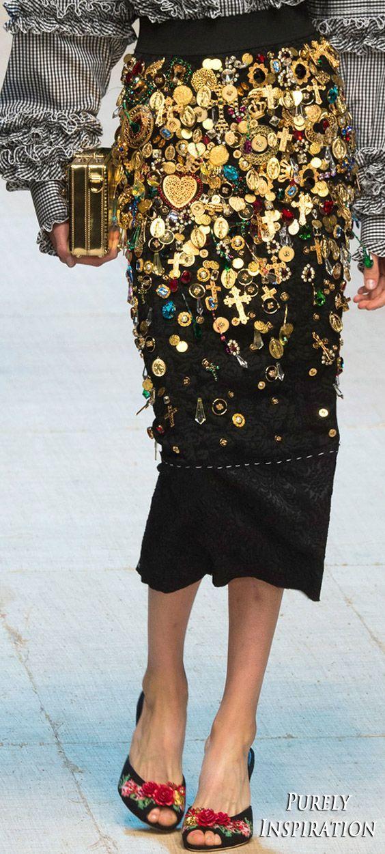 Dolce & Gabbana SS2017 Women's Fashion RTW | Purely Inspiration