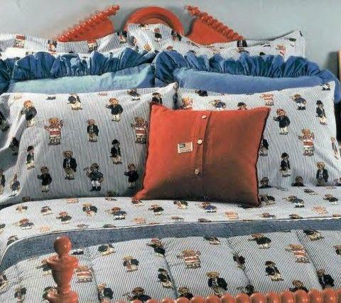 Polo Bear Big Boys Bedding, Polo Bear Bedding Queen