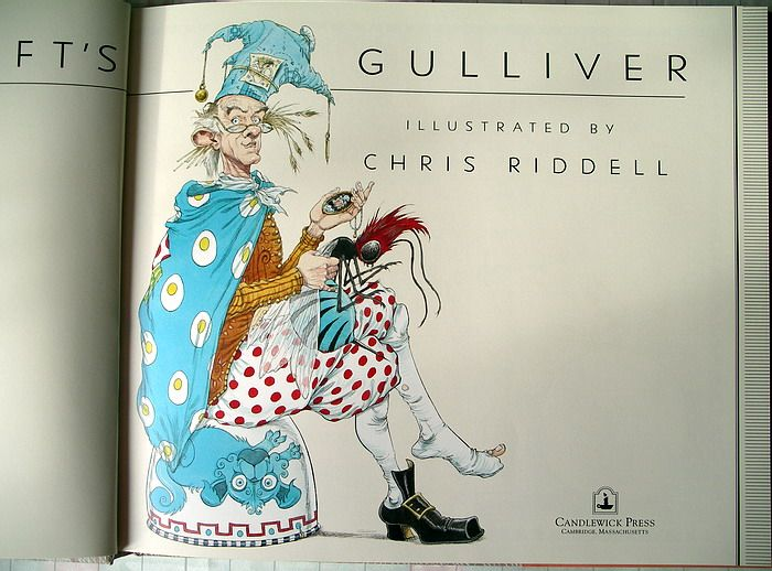 Gulliver S Travels Quotes And Page Numbers: Title Page To Gulliver's Travels, Chris Riddell