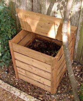 Eco Wood Compost Bin 260 Pretty Sure The Hubbs Could Build