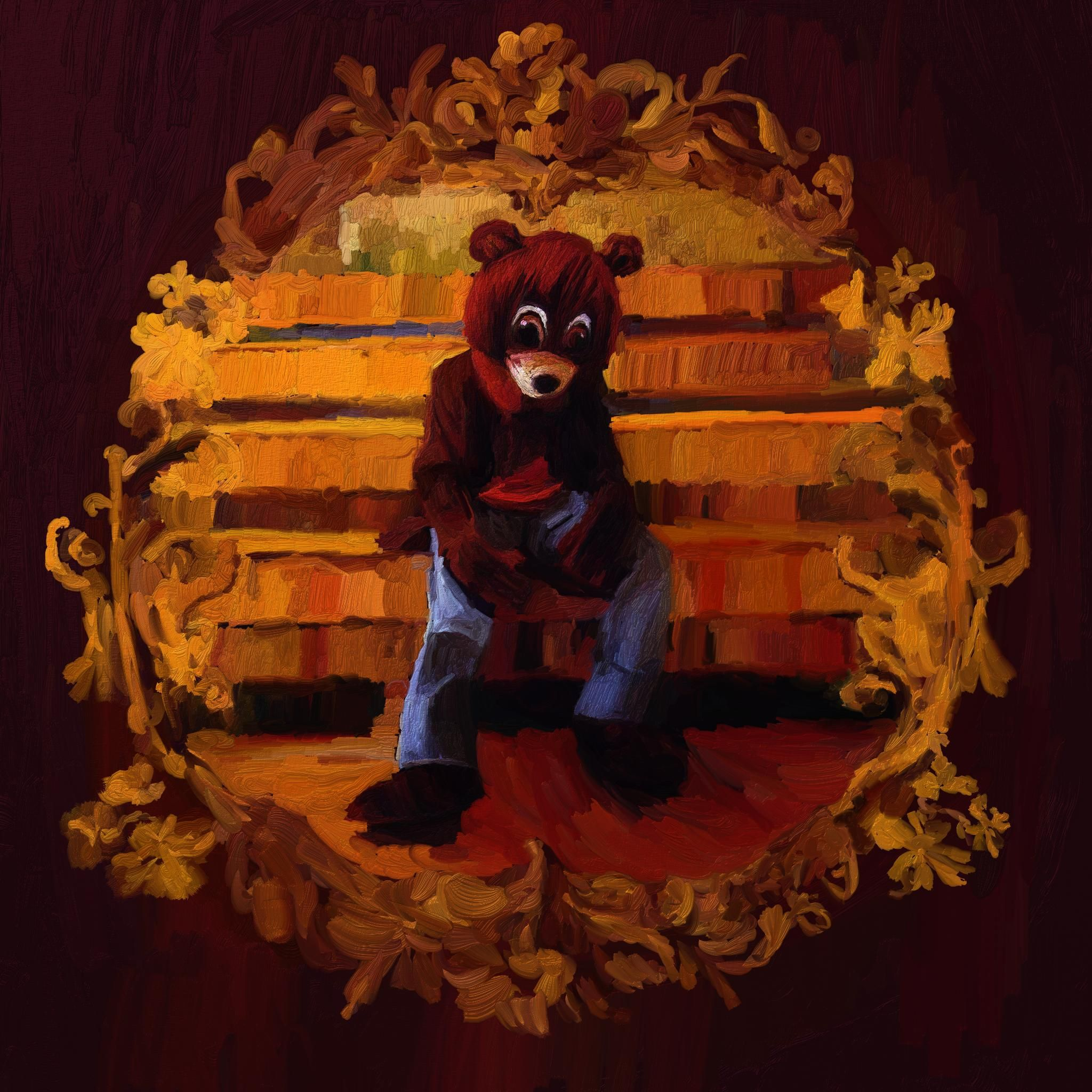 College Dropout Digital Painting Digital Painting Painting Art