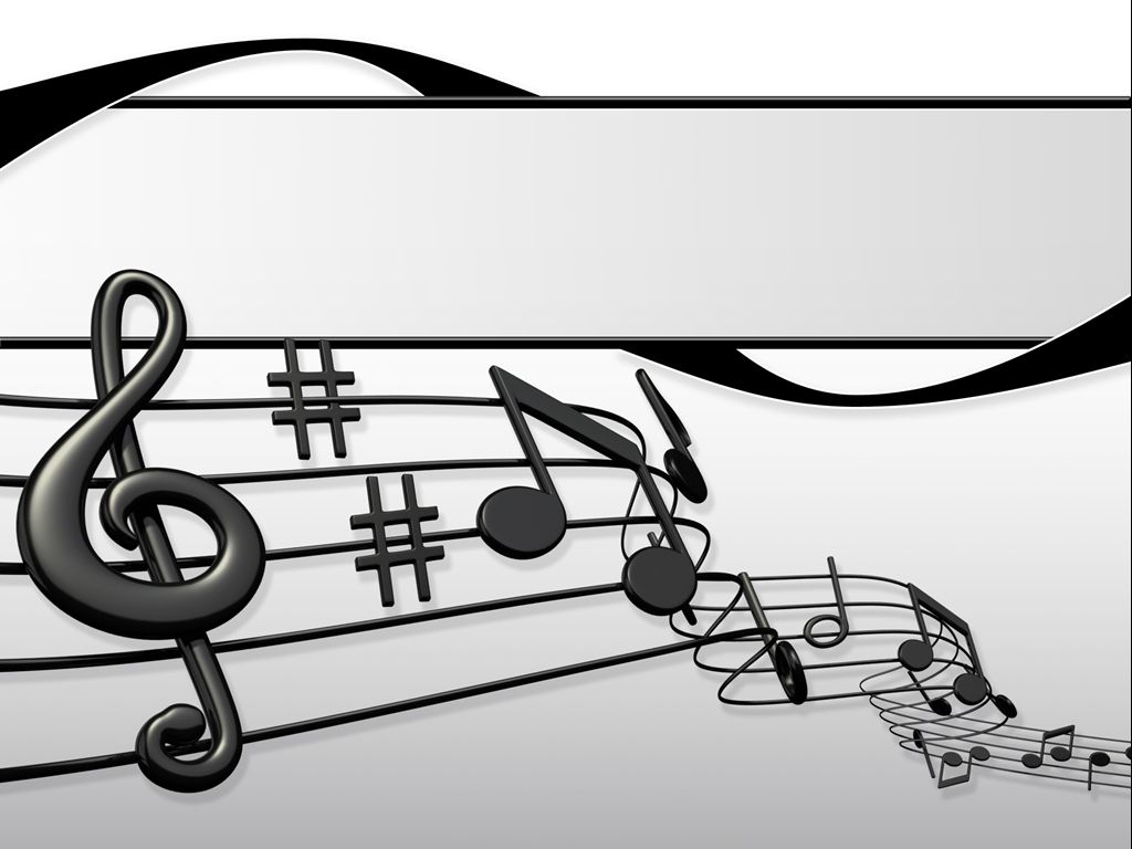 Sheet Music Presentation Ppt Templates For Office Powerpoint