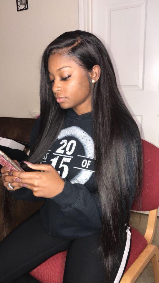 I Love Long Straight Hairand You The Same Sleeksoftshiny Silky
