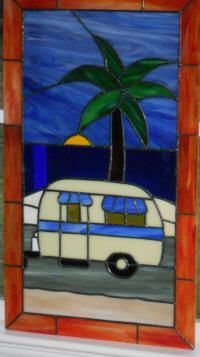Your choice from 18 stained glass windows for rv 5th wheel stained glass rv door window details about your choice from 18 stained glass windows for planetlyrics Images