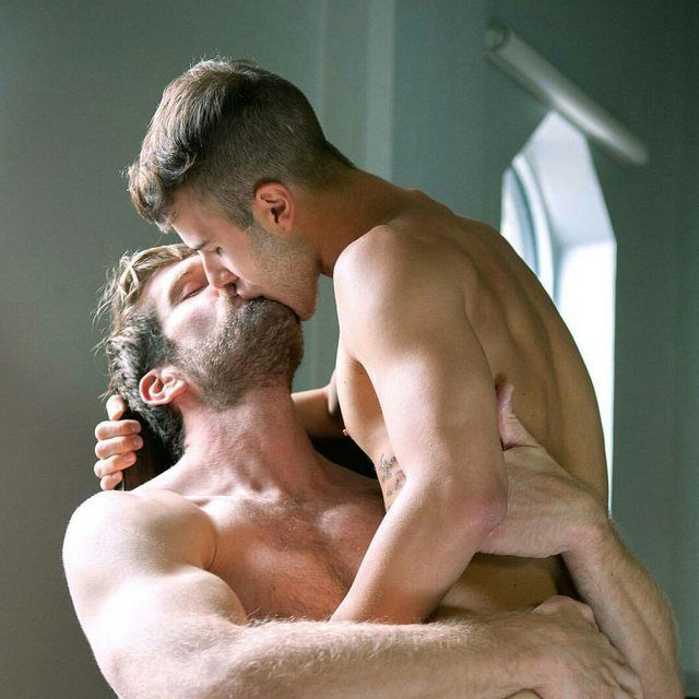 gay men porn stars on knees anal