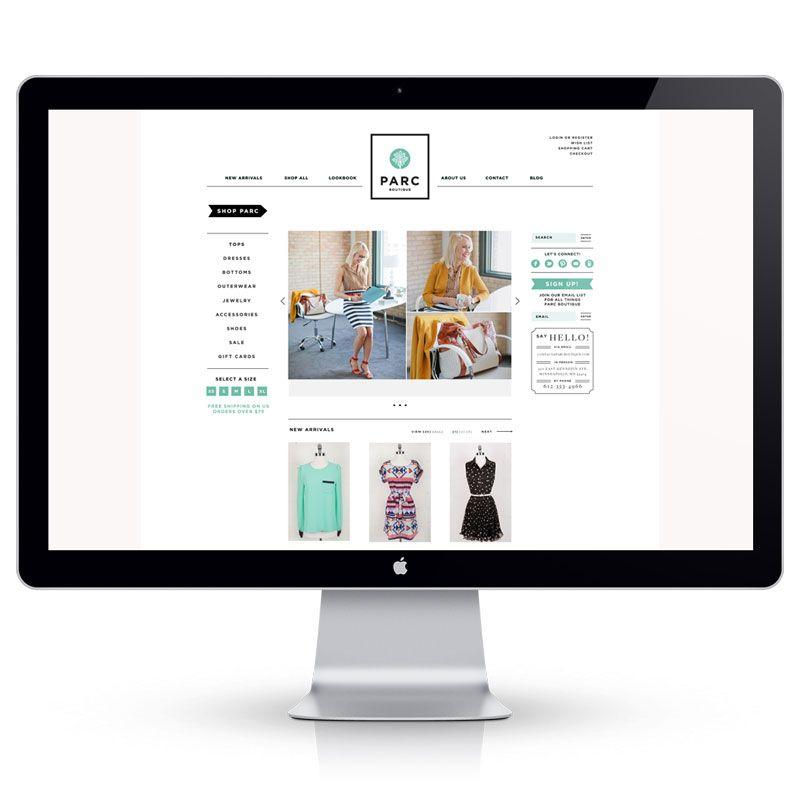 Parc Boutique Goes Online