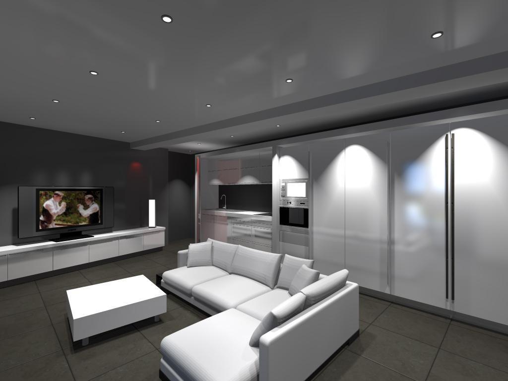 Résultats de recherche d\'images pour « décoration sous-sol salon ...
