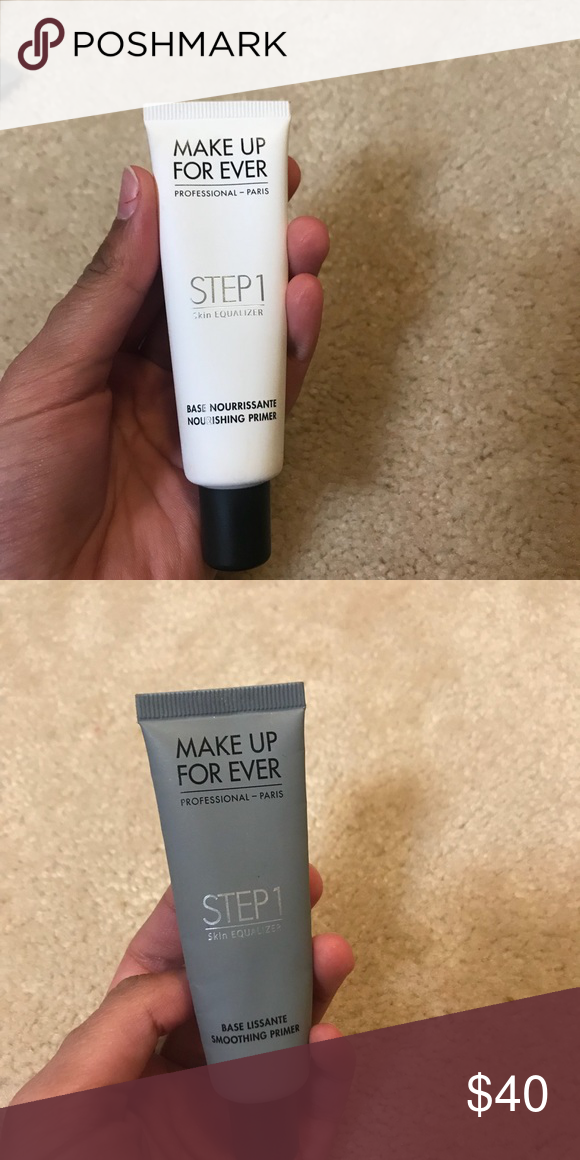 Make Up For Ever Primer Bundle Nourishing and Smoothing