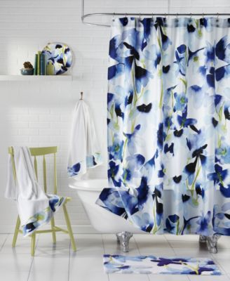 Bluebellgray Skye Shower Curtains Bathroom Accessories Bed