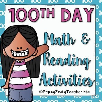 100th Day Reading and Math Pack [FREE] 2nd-4th | Homeschool--reading ...