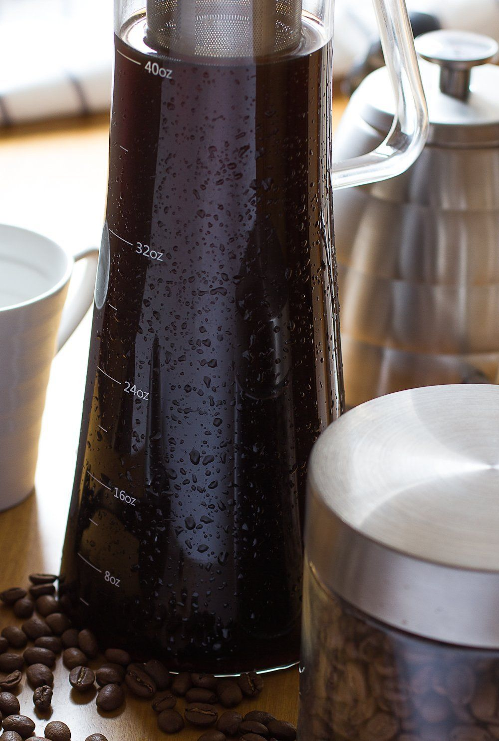 Cold Brew Iced Coffee Maker Larger Capacity
