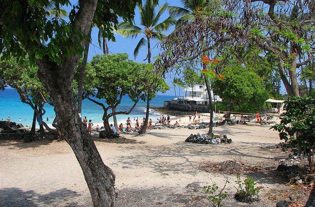 Island Kailua Kona And Magic Sands Beach