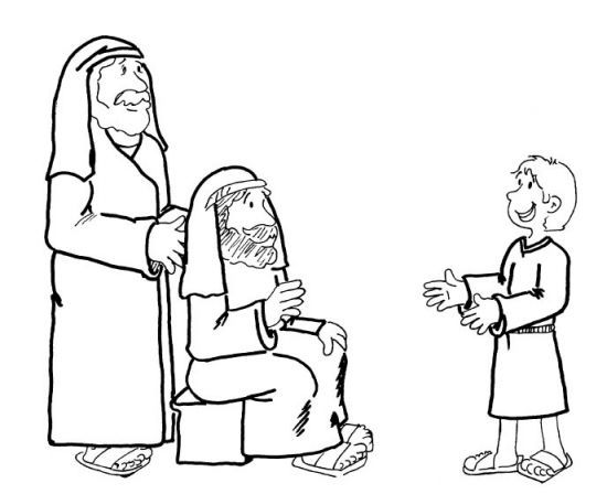 Jesus finding in the temple coloring pages BIble Jesus Birth