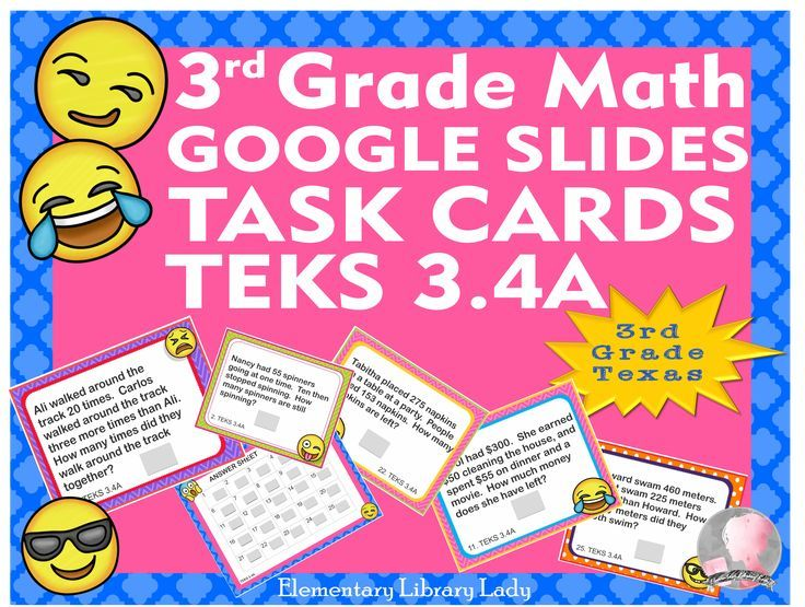 teks 3 4a task cards google slides 25 cards with answer key all