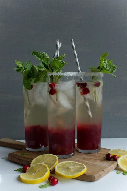 Cranberry Mint Cocktail - from @Maria Canavello Mrasek Canavello Mrasek Stordahl Nelson