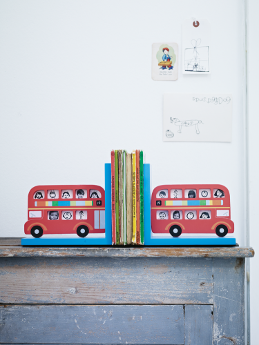 Colourful Bus Picture Frame Bookends by Cox & Cox @Luvocracy