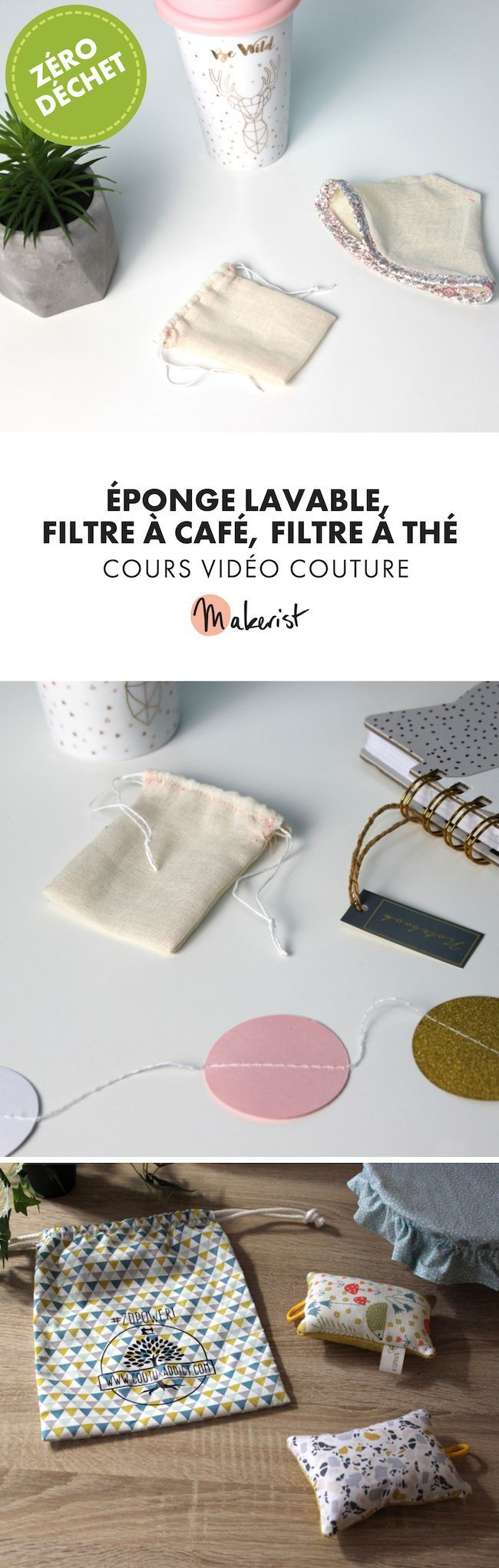 Cours couture zéro déchet - éponge, filtres à café et à thé #couturezerodechet Eponge lavable, filtre à café et filtre à thé - Cours vidéo de couture disponible sur makerist.fr  #couture #filtrecafe #filtrediy #filtrethe #food #wastefree #zerowaste #diy #homediy #plasticfree #zerodechet #ecolo #coutureecolo #cours #coursvideo #coursdecouture #couturezerodechet #reutilisable #passioncouture #inspirationcouture #tutocouture#faitmain #coudrerendheureux #coudreavecmakerist #couture #cout #couturezerodechet